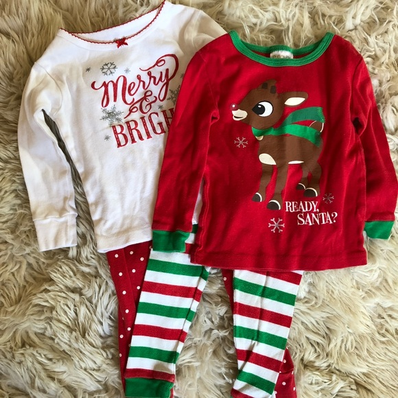 Carter s Other - Toddler girls Christmas pajama bundle 0d1507809